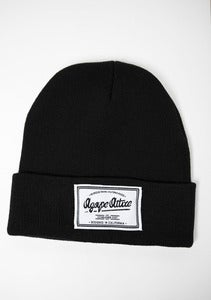 Image of Agape Patch on Black Beanie