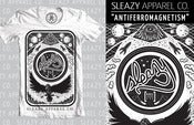 "Image of Sleazy Apparel ""Antiferromagnetism"" Tee [WHITE]"