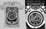 "Image of Sleazy Apparel ""Antiferromagnetism"" Tee [GREY]"