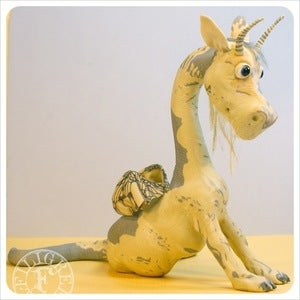 Image of SOLD! Silver Honey Dragon 