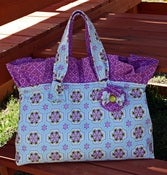 Image of Little Miss Business Bag PAPER Pattern