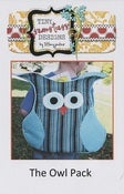 Image of The Owl Backpack PAPER Pattern