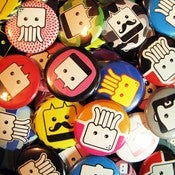 Image of Super Boxy Funtime Button Pack