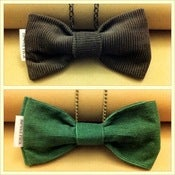 Image of Corduroy Bows (also available as an easy clip-on bow tie)