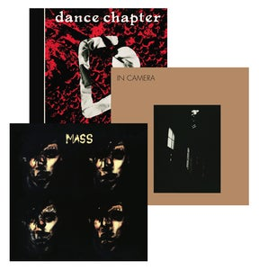 Image of 4AD reissues bundle: Dance Chapter + In Camera + Mass LPs at a special price