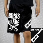 Image of BORIS THE BUTCHER MOSH SHORTS
