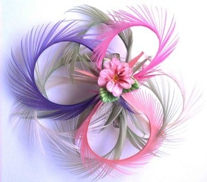 Image of Flower feather Frou Frou