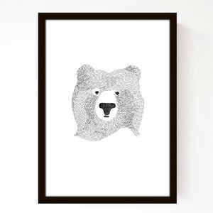 Image of A4 Bear Of Few Words