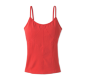 Image of Prism prAna yoga top in Coral Tangerine - on sale