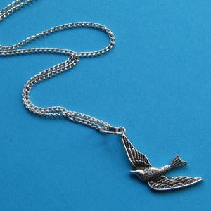 Image of Little Swift Swallow Necklace (various colours)