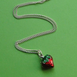 Image of Juicy Strawberry Necklace