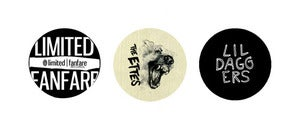 Image of 3 Button Pack (LFR, The Ettes, Lil Daggers)