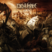 Image of DEHUMAN &quot;Black Throne of all Creation&quot; CD