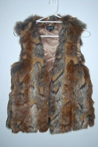 Image of Topshop faux fur vest