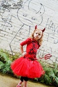 Image of Lil' Devil Tutu Costume Set