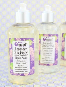 Image of Lavender Lime Fennel Liquid Soap