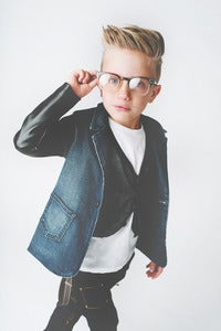 Image of Denim Blazer