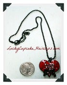 Image of Corset Heart Necklace
