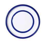 Image of Medium Plate cobalt blue