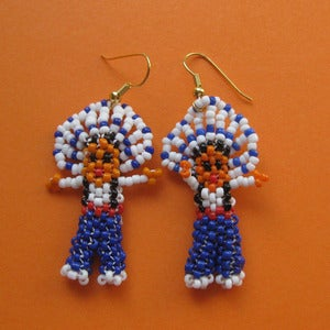 Image of Hippie Bead Tribal Earrings (Various Designs) 20% Off!