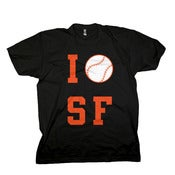 "Image of ""I Love SF"" Tee"