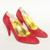 Image of FLAMEN ROUGE HEELS // 7ish