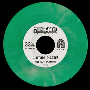 "Image of Destroy Babylon - Culture Pirates (colored 7"" vinyl / CD / book)"