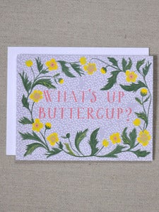 Image of What's Up Buttercup Note Card