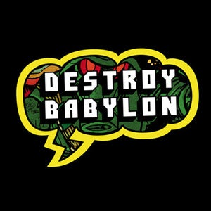Image of Destroy Babylon - Cloud Sticker
