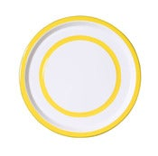 Image of Medium Plate lemon yellow