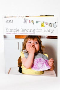 Image of Simple Sewing For Baby - Lotta Jansdotter