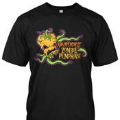 Image of Invasion of the Zombie Pumpkins! T-Shirt (black) (Unisex)