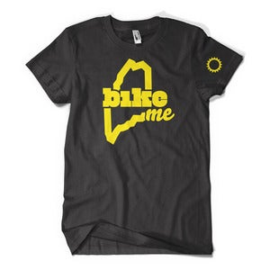 Image of BikeME T-Shirt (Black)
