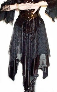 Image of Gothic Pixie Banshee Skirt