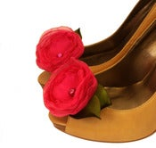 Image of Shoe Clips - Fuchsia by Nia Person