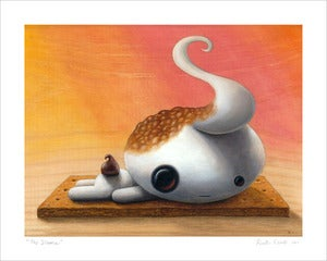 Image of &quot;No S'more&quot; giclee print