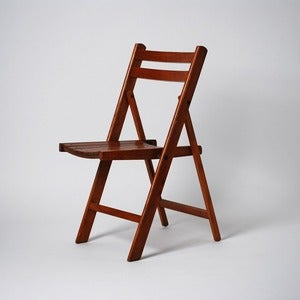 Image of Wooden Folding Chair