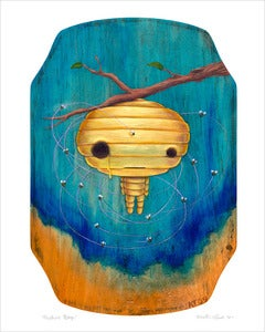Image of &quot;Beehive Boy&quot; giclee print