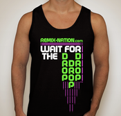 "Image of Fluorescent ""Wait for the DROP!"" Tank"