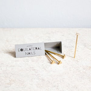 Image of Equilateral Nails : Bronze