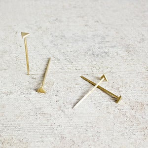 Image of Equilateral Nails : Brass