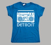 Image of Women's Detroit Boombox T-Shirt