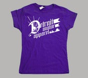 Image of Women's Detroit Motor Apparel T-Shirt