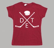 Image of Women's Detroit Hockey T-Shirt
