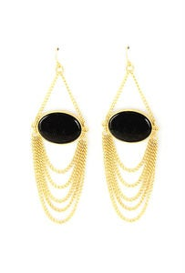 Image of The Mya Black Earrings