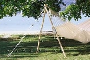 Image of AMAZONAS 'Madera' hammock stand - The 2nd tree!
