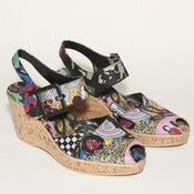 Image of COMIC STRIP WEDGES // 7