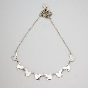 Image of Flock Necklace | Silver