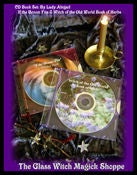 Image of CD Book Set; Witch of the Old World Book of Herbs & If the Broom Fits by Lady Abigail