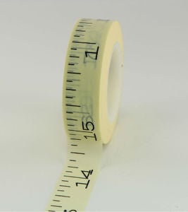 Image of washi tape #618 measure tape